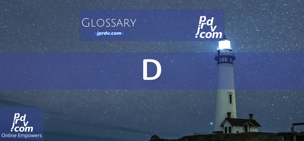 D (Site Glossary)