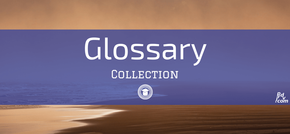 Glossary OnlineEduReview Collection