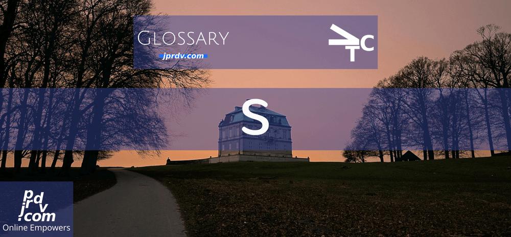 S (jprdvTheCorner Glossary)