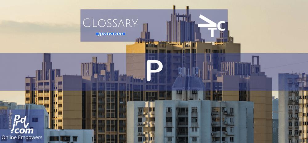 P (jprdvTheCorner Glossary)