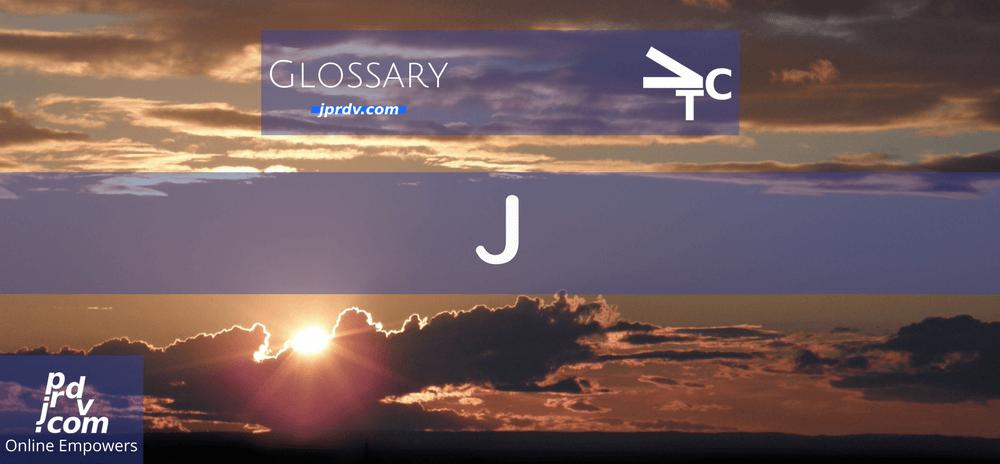 J (jprdvTheCorner Glossary)