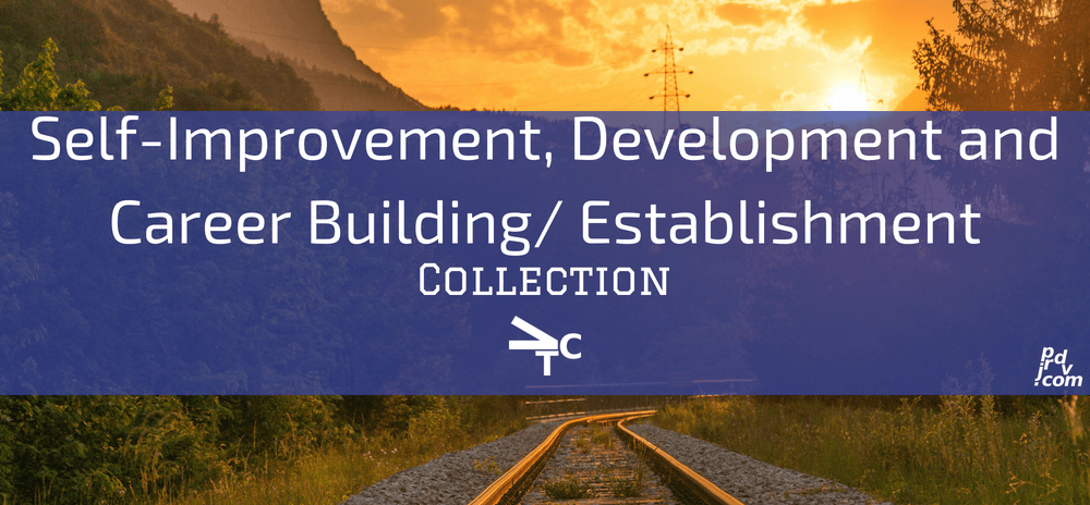 Self-Improvement, Development and Career Building _ Establishment jprdvTheCorner Collection