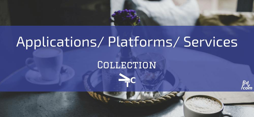 Applications _ Platforms _ Services jprdvTheCorner Collection