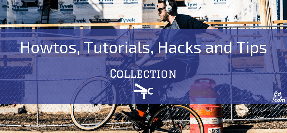Howtos, Tutorials, Hacks and Tips jprdvTheCorner Collection