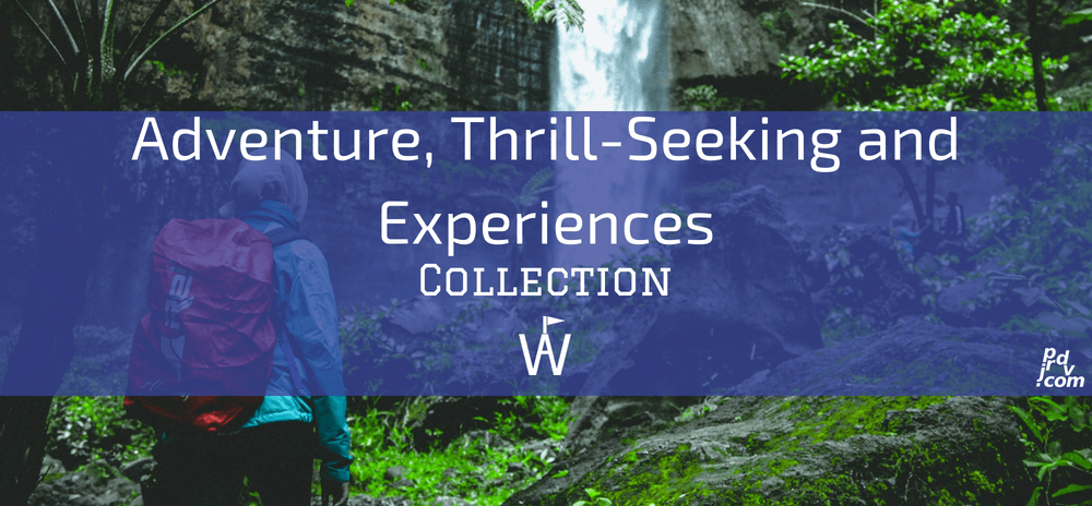Adventure, Thrill-Seeking and Experiences Workavel Collection