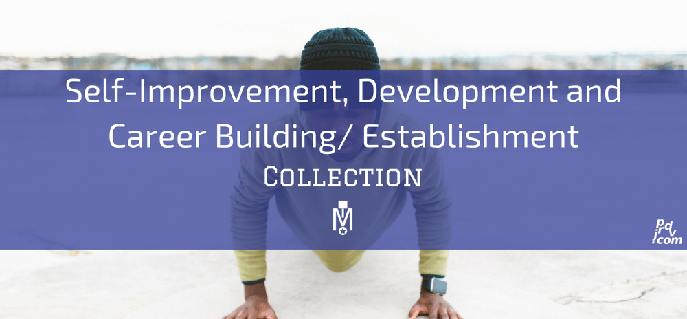 Self-Improvement, Development and Career Building _ Establishment Magnobusiness Collection