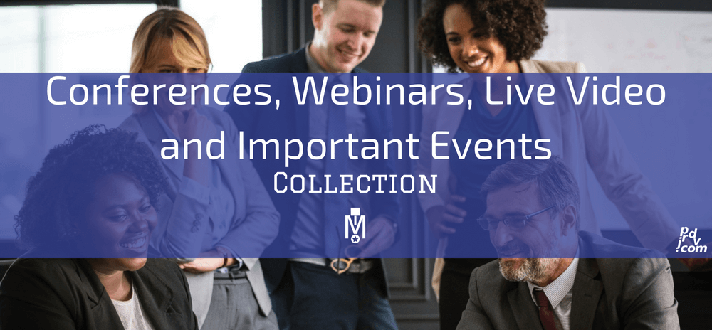 Conferences, Webinars, Live Video and Important Events Magnobusiness Collection