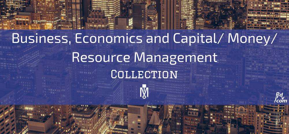 Business, Economics and Capital _ Money _ Resource Management Magnobusiness Collection