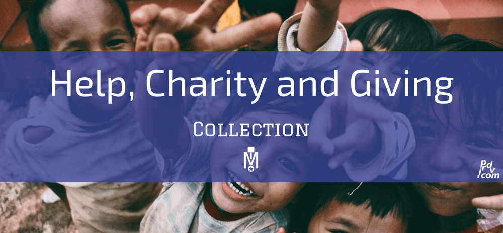 Help, Charity and Giving Magnobusiness Collection