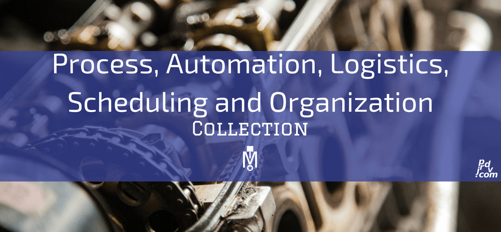 Process, Automation, Logistics, Scheduling and Organization Magnobusiness Collection