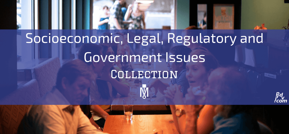 Socioeconomic, Legal, Regulatory and Government Issues Magnobusiness Collection