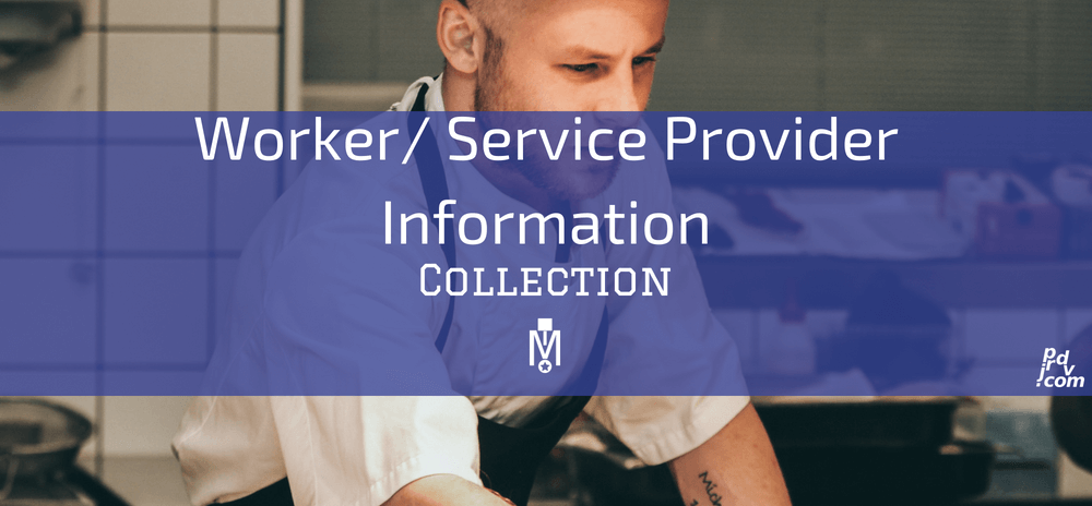 Worker _ Service Provider Information Magnobusiness Collection