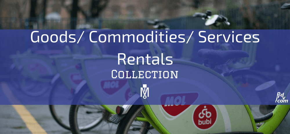 Goods _ Commodities _ Service Rentals Magnobusiness Collections