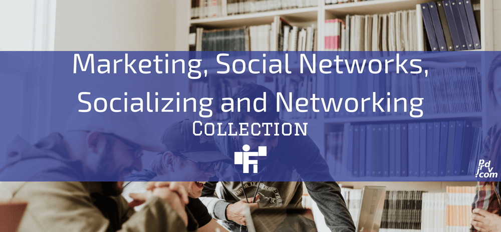 Marketing, Social Networks, Socializing and Networking Freelanstyle Collection