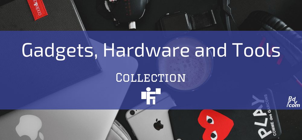 Gadgets, Hardware and Tools Freelanstyle Collection