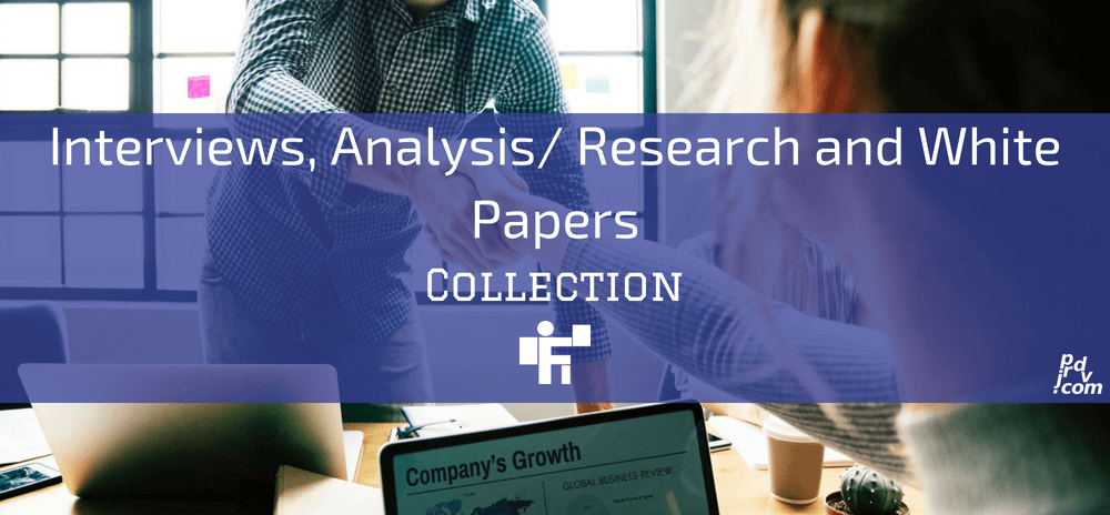 Interviews, Analysis _ Research and White Papers Freelanstyle Collection