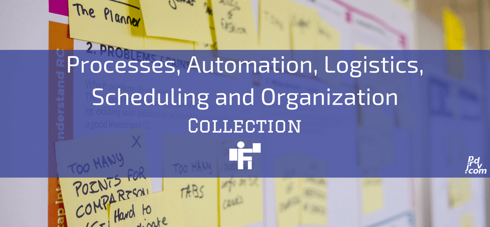 Processes, Automation, Logistics, Scheduling and Organization Freelanstyle Collection