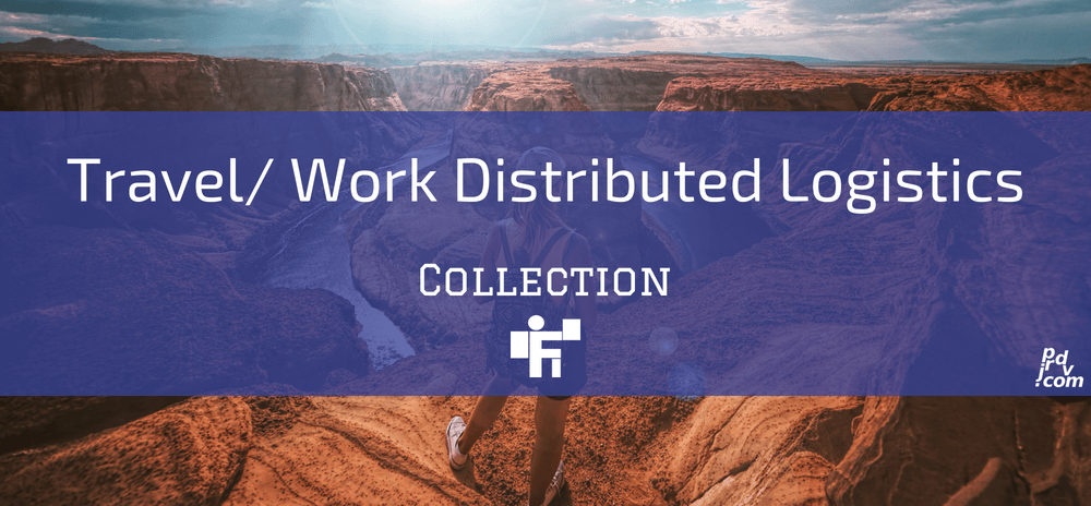 Travel _ Work Distributed Logistics Freelanstyle Collection