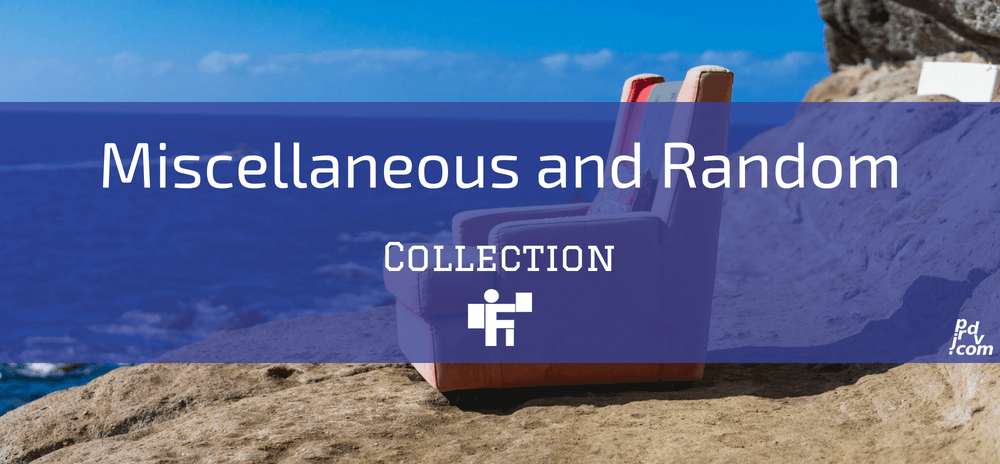 Miscellaneous and Random Freelanstyle Collection