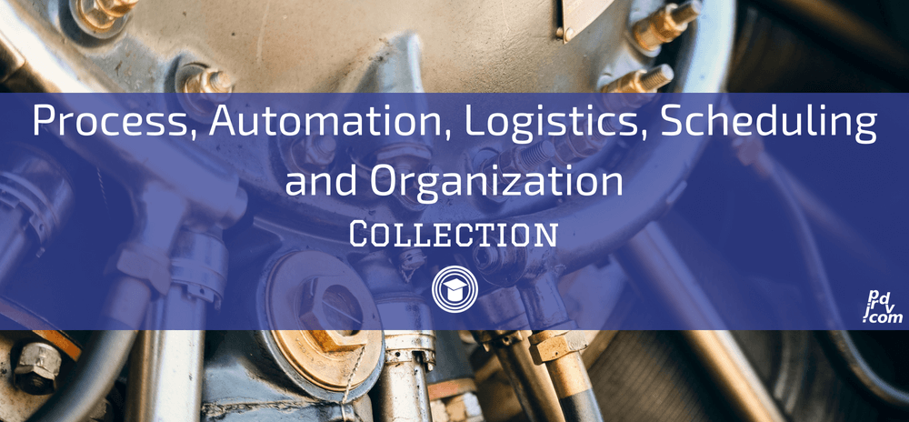Processes, Automation, Logistics, Scheduling and Organization OnlineEduReview Collection