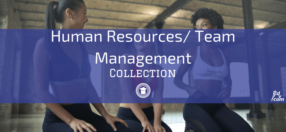 Human Resources _ Team Management OnlineEduReview Collection
