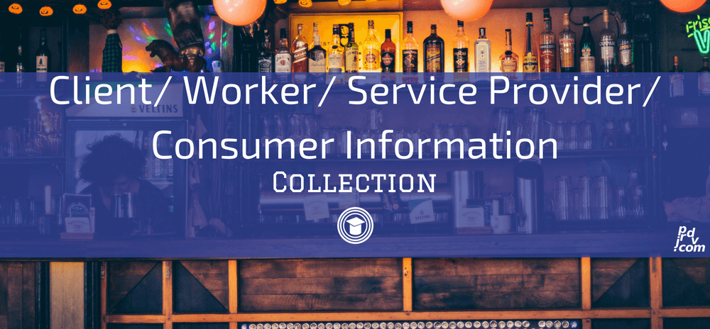 Client _ Worker _ Service Provider _ Consumer Information OnlineEduReview Collection