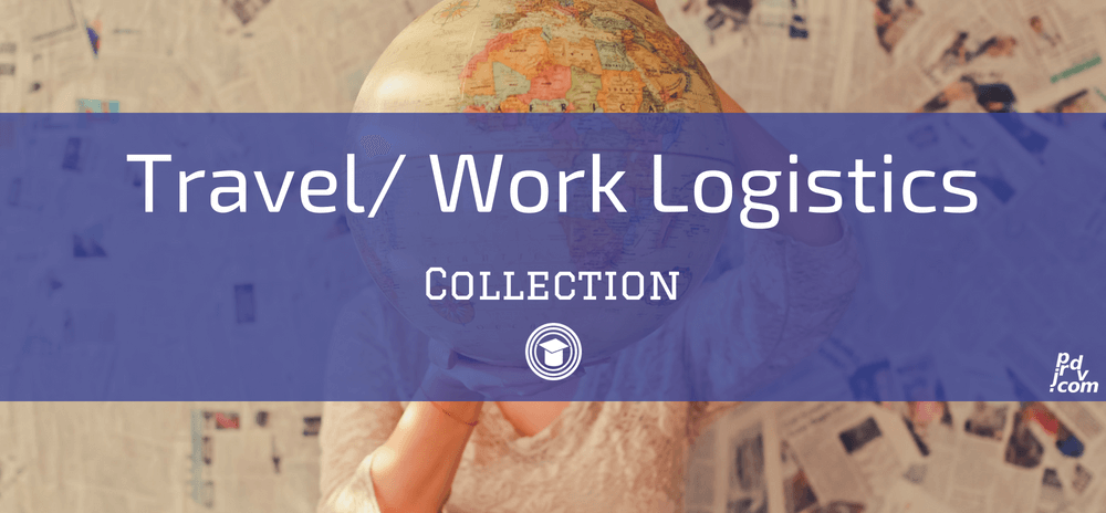 Travel _ Work Logistics OnlineEduReview Collection