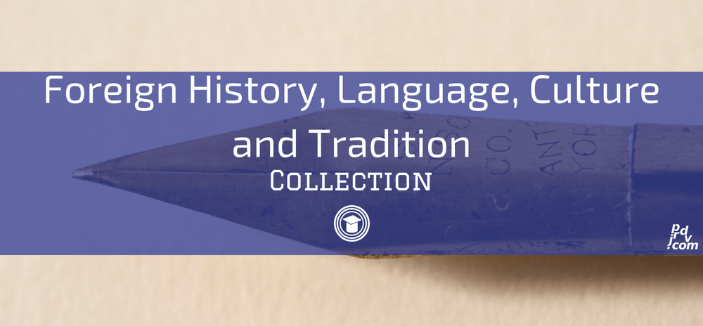 Foreign History, Language, Culture and Tradition OnlineEduReview Collection