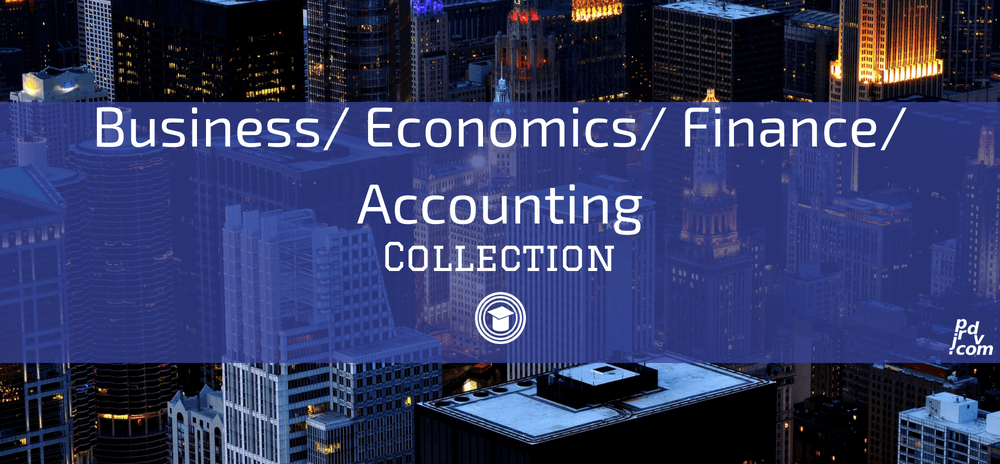 Business _ Economics _ Finance _ Accounting OnlineEduReview Collection