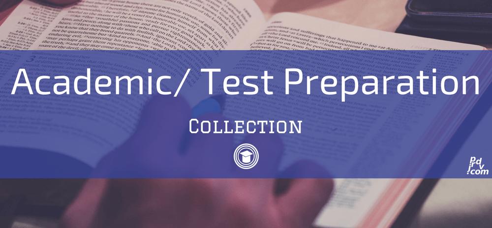 Academic _ Test Preparation OnlineEduReview Collection