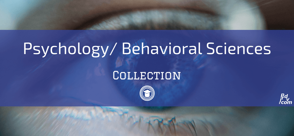 Psychology _ Behavioral Sciences OnlineEduReview Collection