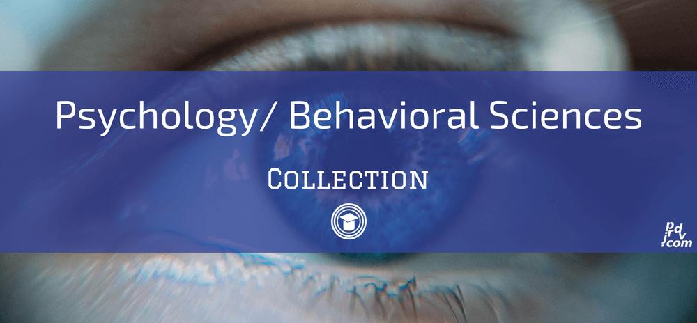 Psychology _ Behavioral Sciences OnlineEduReview Collection