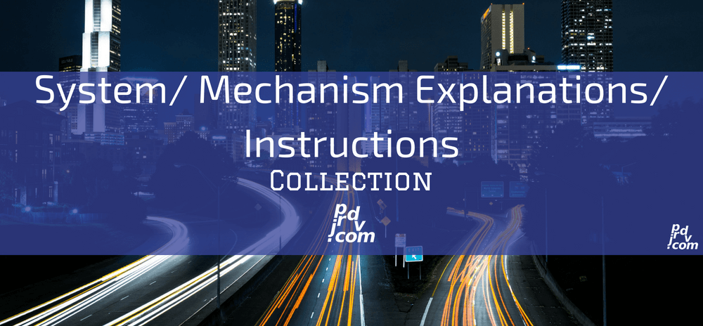 System_Mechanism Explanations_Instructions Site Collection