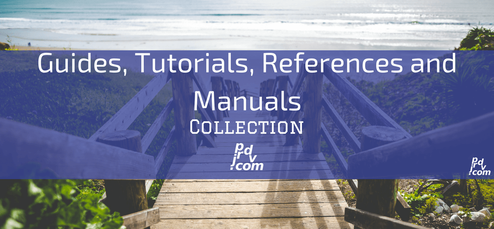 Guides, Tutorials, References and Manuals Site Collection