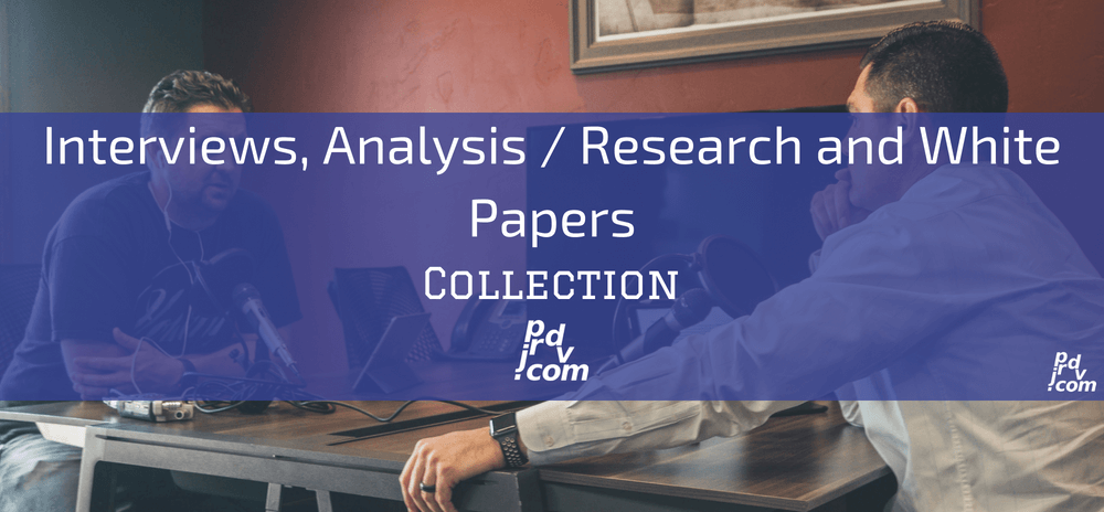 Interviews, Analysis _ Research and White Papers Site Collection