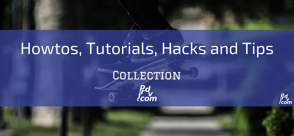 Howtos, Tutorials, Hacks and Tips Site Collection