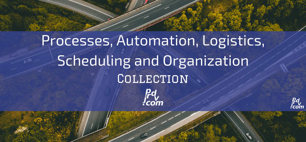 Processes, Automation, Logistics, Scheduling and Organization Site Collection