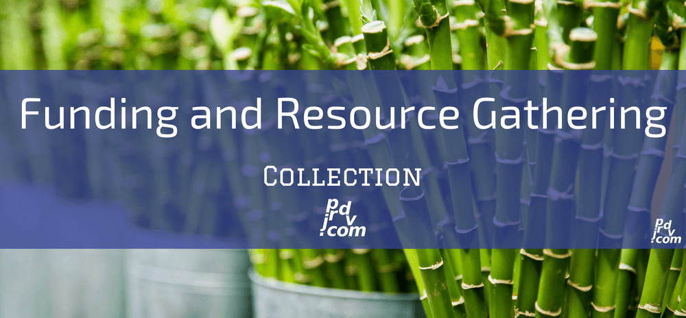 Funding and Resource Gathering Site Collection