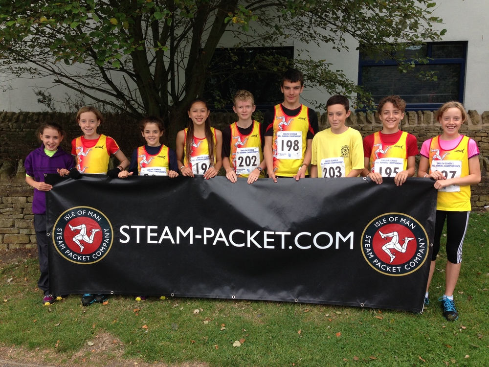 Team Isle of Man - kindly supported by the Isle of Man Steam Packet Company