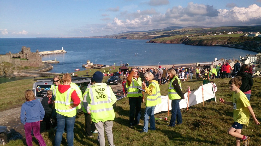 Special thanks to the finish marshalls and timekeepers who were kept very busy!