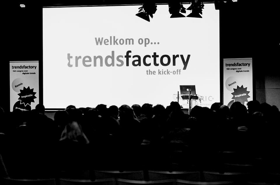''Start of the Trendfactory 2014 at the Jaarbeurs Utrecht''