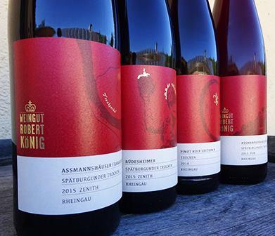 Unser Kunde Weingut Robert König hat unsere neuen Ettiketten produzieren lassen.