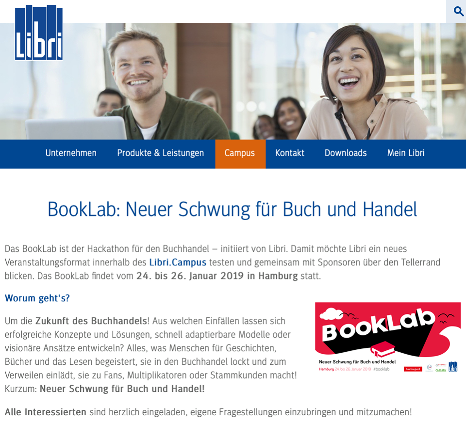 libri book lab