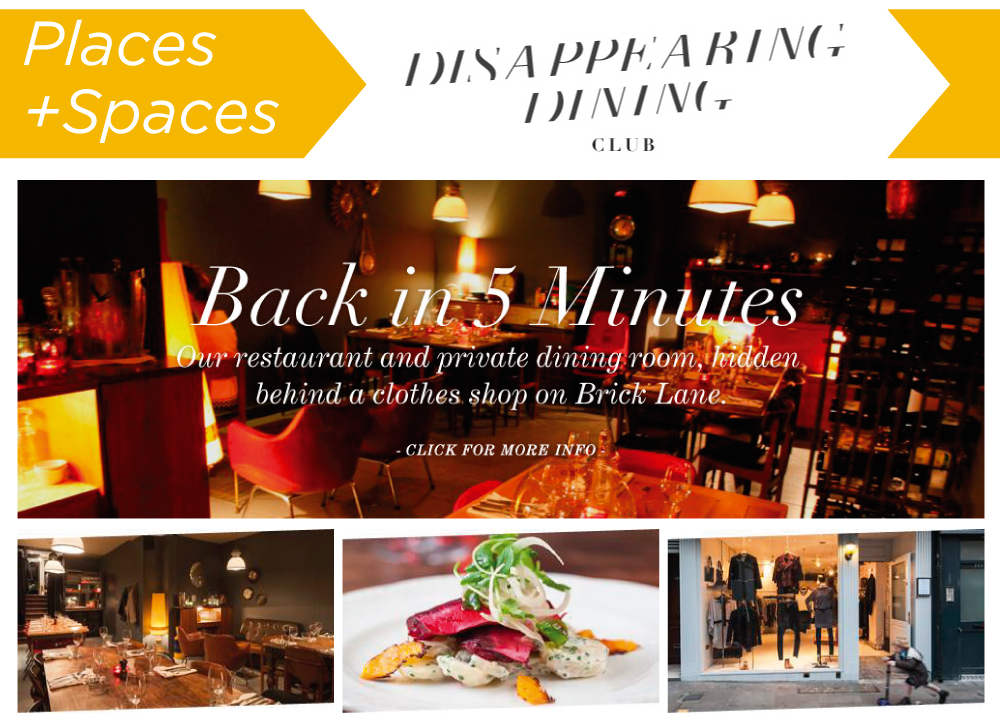 Image© Disappearing Dining Club