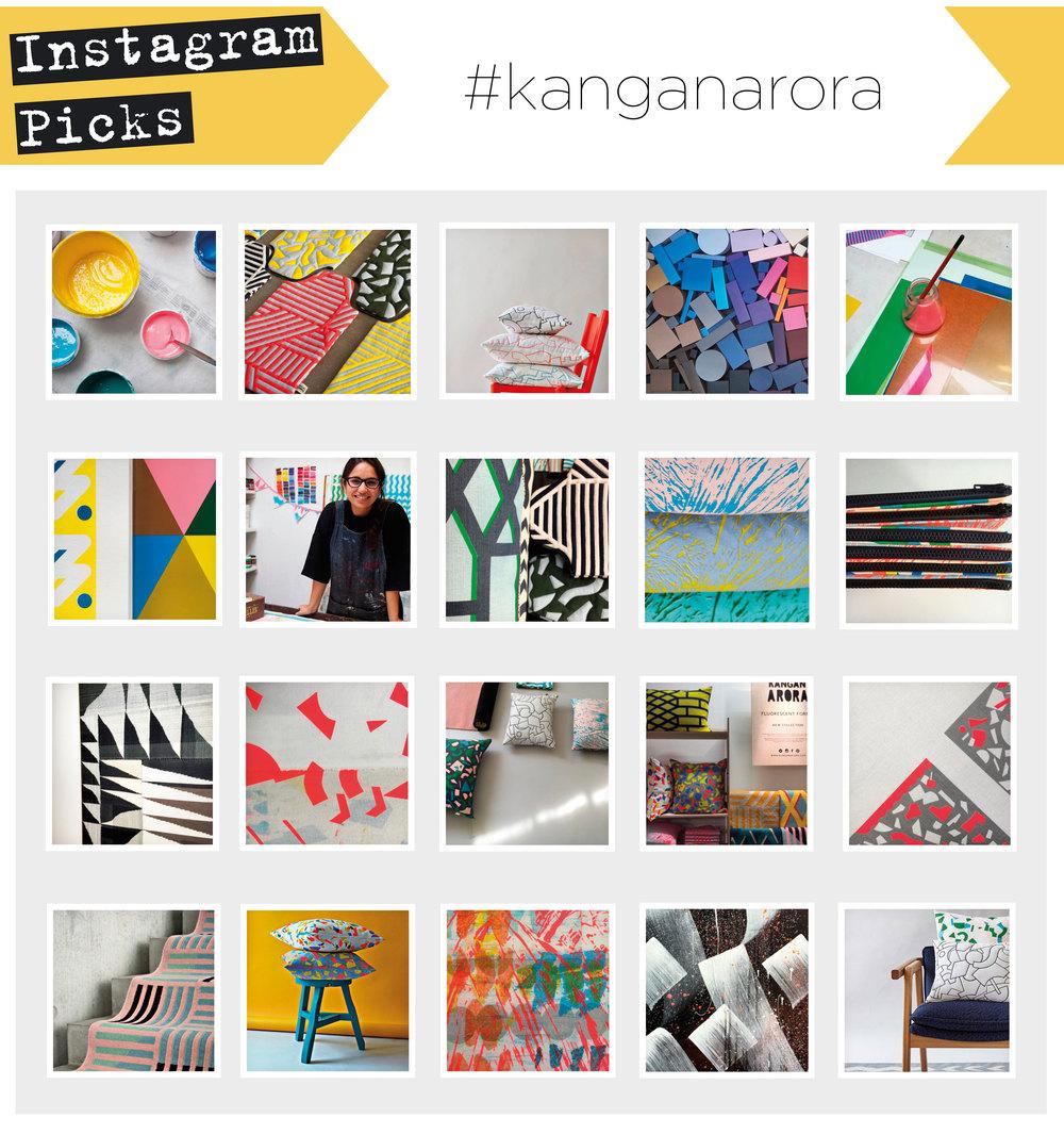 Images from Kangan Arora Instagram feed