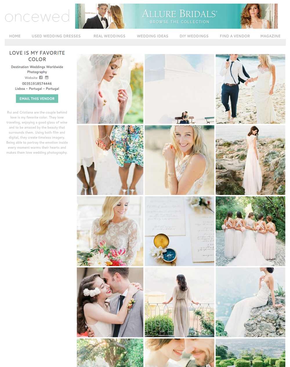 europe wedding photographer_ Portugal wedding photographer_fotografo de casamento_oncewed