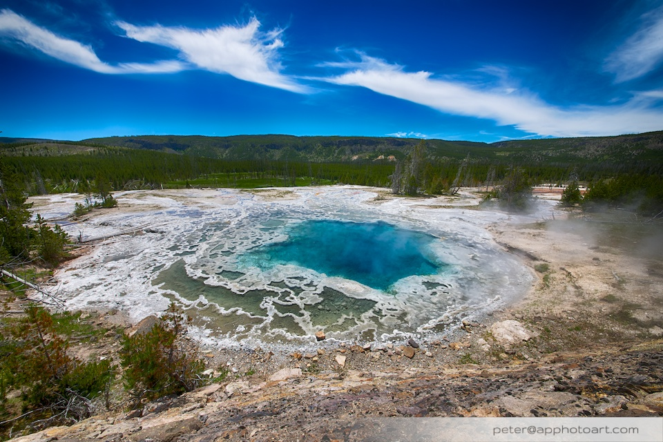 Old Faithful - Artemisia geyser