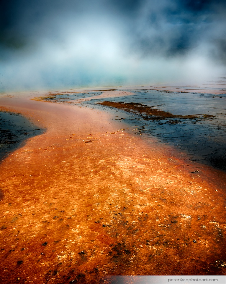 Grand Prismatic Spring - Closup