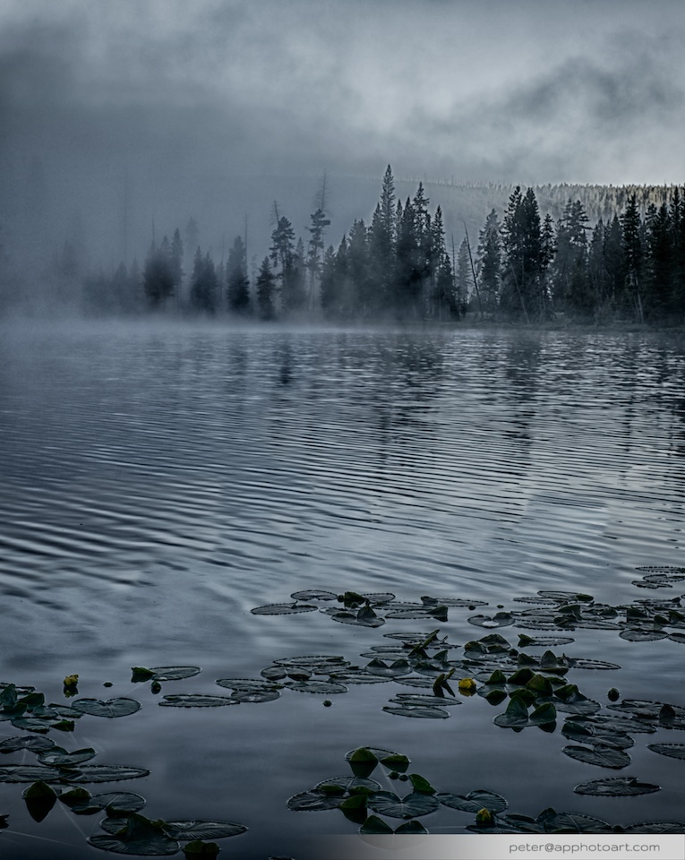 Twin Lakes - Sinister fog