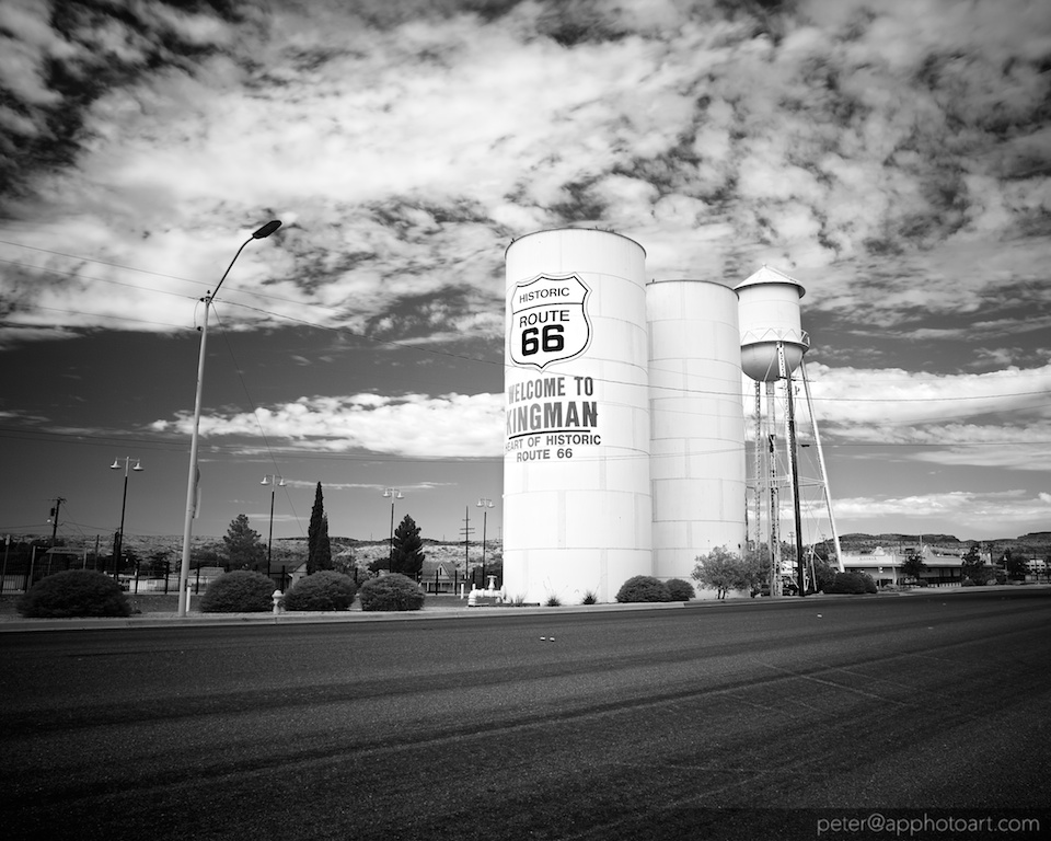 Water Tower in Kingman